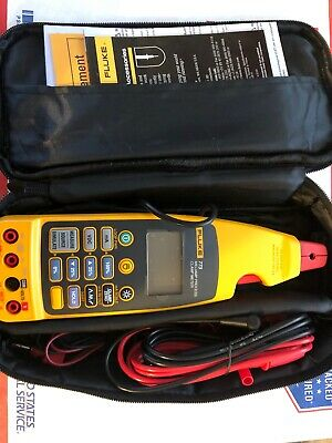 Fluke 773 Milliamp Process Clamp Meter With Case Leads Manual Brand New Open Box