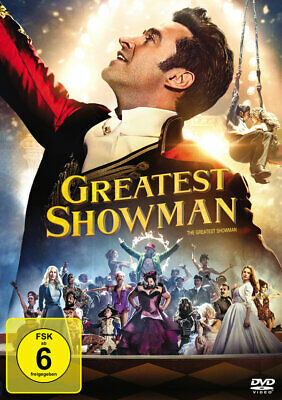 The Greatest Showman Michael Gracey DVD Deutsch NeU / OvP