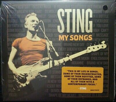 Sting - My Songs (CD ALBUM) New and Sealed