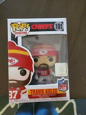Funko Pop! Football  NFL Kansas City Chiefs Travis Kelce #101 W/protector