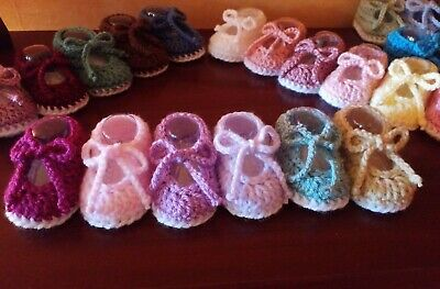Handmade crochet Baby /Shoes/Slippers BOYS/GIRLS