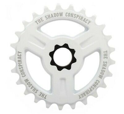 Eighthinch 48 Splined Sprocket Chainring BMX//Freestyle //// 45t //// White