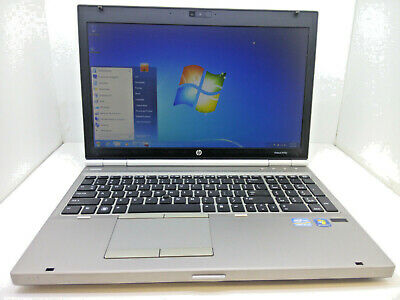 "HP EliteBook 8570p Intel i5-3320M 2.6GHz - 8GB - 1TB DVDRW Win7 Pro 15.6"" Laptop"