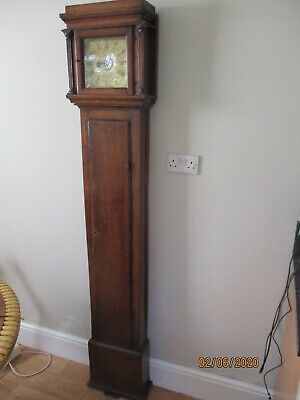 Bates of Kettering Rare small Longcase Clock Verge Alarm Early 18th Century