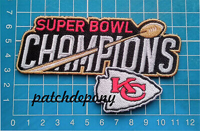 Kansas City Chiefs Patch AFC Champions Superbowl NFL Football Limited Edition