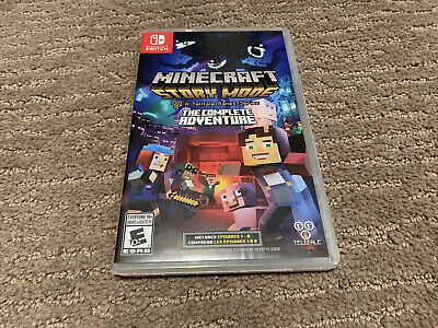 Minecraft Story Mode The Complete Adventure for Nintendo Switch - New Sealed