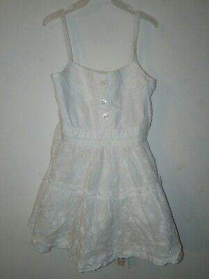 Bnwt Primark Young Dimension White Vest Top 3-4 Years