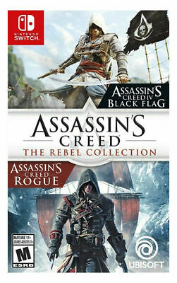 Assassin's Creed: The Rebel Collection Switch - NEW FREE US SHIPPING