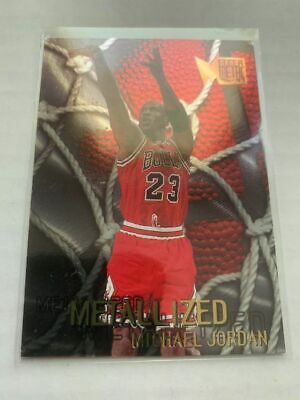 1996-97 Metal Metallized #128 Michael Jordan Chicago Bulls