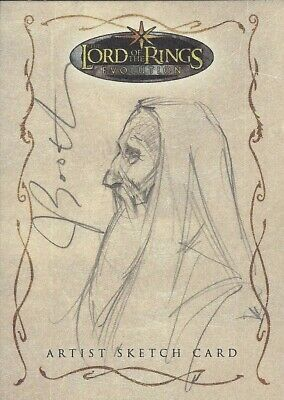 Lord of the Rings Evolution - Joseph Booth Sketch Card, Level D, 1:111 - Topps