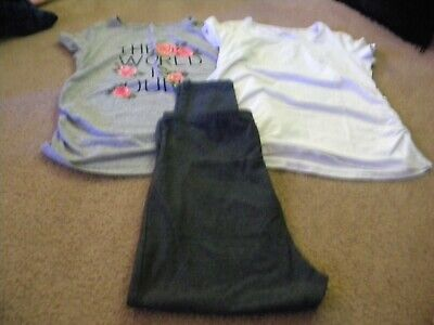 Lot Of 2 Maternity Tops & 1 Pair Of Maternity Pants  Great Expectations  2X  1X