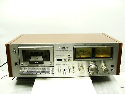 Used Tested Technics Vintage Stereo Cassette Deck Model RS-631