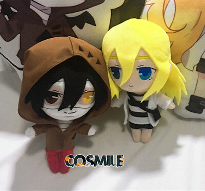 Angels of Death Rachel Isaac Zack Ray Cosplay Plush Mini Toy Doll 23cm Sa