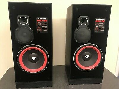 Vintage Cerwin Vega 250 SE Speakers