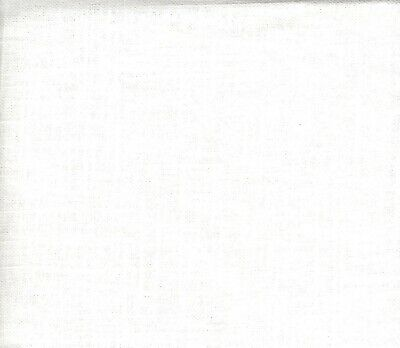 "Needlework Fabric Cross Stitch Or Embroidery 30 Ct 12"" X 24""Off White"