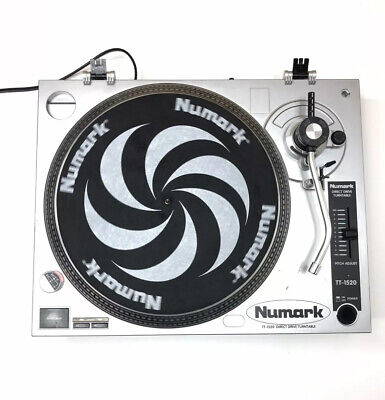 Numark TT-1520 Direct Drive Turntable NO Cartridge Or Stylus Tested Working