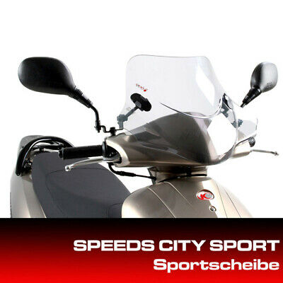 Kymco Windshield for City Sports Vitality 50 with Mount Set