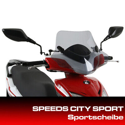 Kymco Windshield City Sports Super 8 since 2013 with Mount Set