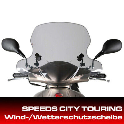 Kymco Windshield for City Touring Vitality 50 with Mount Set