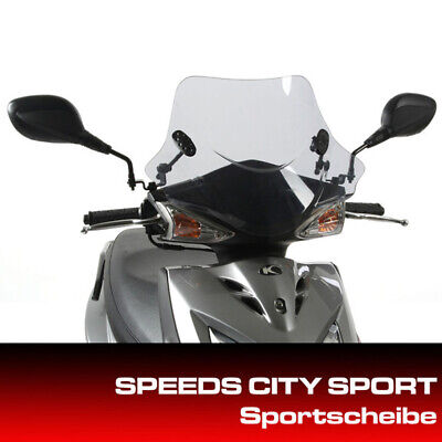 Kymco Windshield for City Sports DJ-S ,Agility,Rs , Carry