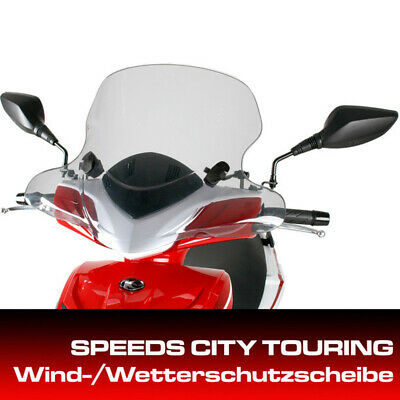 Kymco Windshield City Touring Super 8 since 2013 with Mount Set