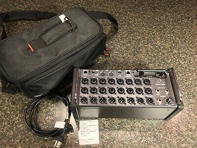 Behringer XR18 Digital Mixer w/ Gator Case Flight Case
