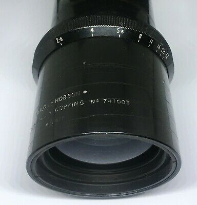 Rare! Taylor Hobson 6 inc(150mm) f2.8 cooke F(2.8-32)  Made in England .