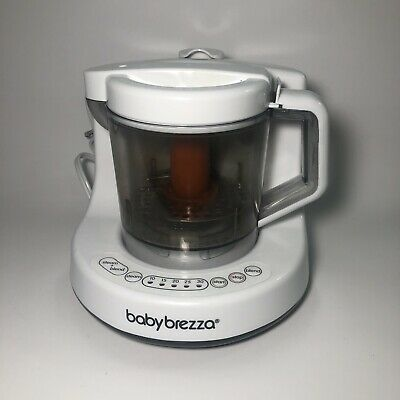 Baby Brezza One Step Baby Food Maker Steamer Blender White/Grey