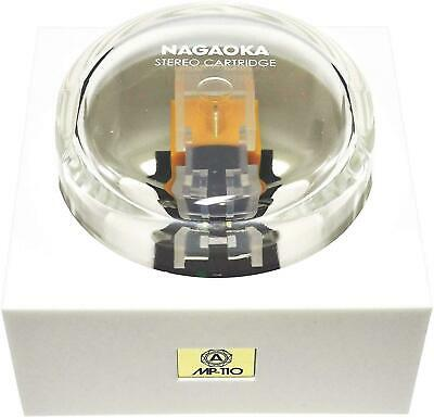 New Nagaoka MP-110 Stereo Cartridge Elliptical Diamond From Japan