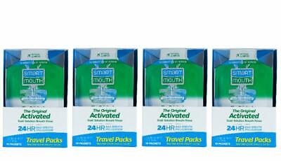 Bestselling Mouthwash Packet for 24 Hours of Fresh Breath - 4 Box of 10 Packs
