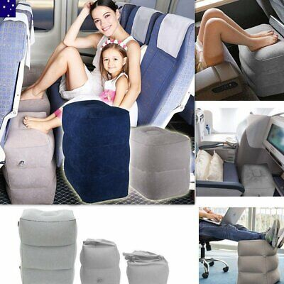 Plane Train Travel Footrest Pillow Cars Train Kids Bed Foot Rest Pad Leg Relax