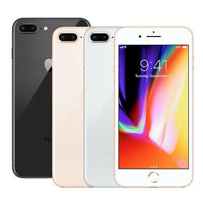 Apple iPhone 8 Plus 64/256 GB Factory Unlocked Smartphone Space Grey Silver Gold
