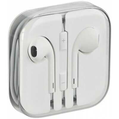 Auriculares Original 100% Apple MD827 Jack 3.5mm iPhone 4 4S 5 5S SE 6 6S iPad