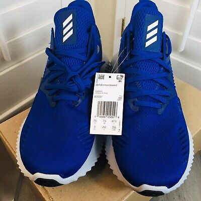 Adidas Alphabounce Beyond Team Running Shoes - Royal Blue New B37227 - Size 8