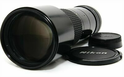 """Excellent-"" Nikon Ai-s Ais Nikkor ED 300mm f/4.5 MF Telephoto Lens From Japan"