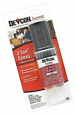 Devcon 31345 High Strength 2-Ton Crystal Clear Epoxy