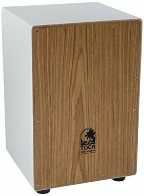 Cajon Drum Trommel TOCA Coloursound Wood Weiß Holzkorpus Musikinstrument