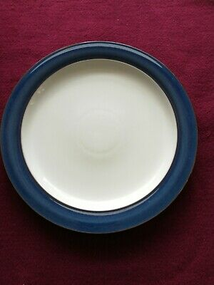 Denby Boston Blue Dinner Plate 10.5  Inches