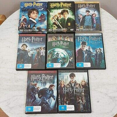 HARRY POTTER The Complete DVD Collection 1 - 8 (Aus Seller)