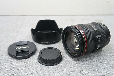 Canon EF 24-105mm F4L IS USM Zoom Lens USED Free Shipping (d239