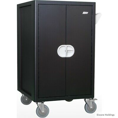 """AVer 36 Device Economy Charging Cart - 4 Casters - 5"""" Caster Size - CHRGEE36C"""