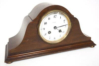 Incredible French 8 Day Mantel Clock Striking Mantle Clock With Platform Balance
