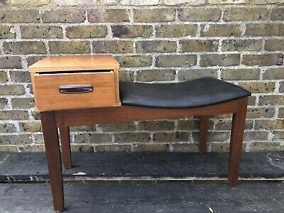 Mid Century Telephone Stool