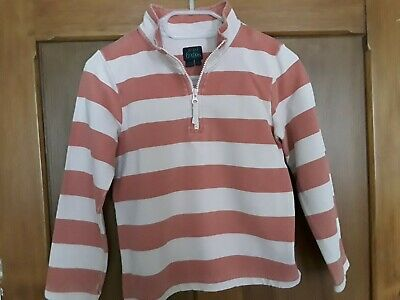 Mini Boden striped sweatshirt - girl age 7-8