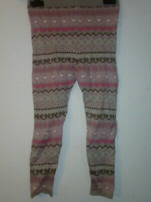 Bnwt Primark Young Dimension Girls Leggings Size Uk 6-7 Years