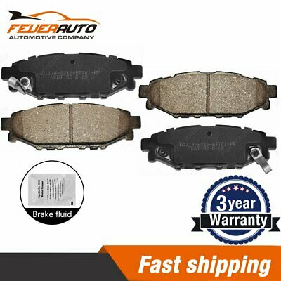 BOSCH Disc Brake Pads SET Front Rear Axle Fits SUBARU Forester Liberty 2000
