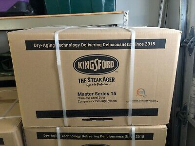 KINGSFORD SteakAger Dry Steak Aging Fridge Series 15 NEW IN BOX
