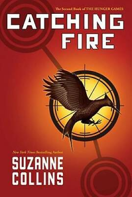 Catching Fire (The Hunger Games) - Hardcover By Collins, Suzanne - VERY GOOD
