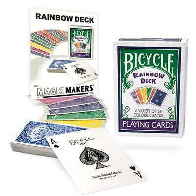The Rainbow Deck - With Instructional Dvd - Magic Makers - New!