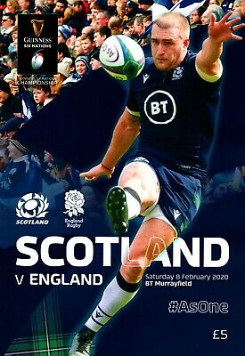 Scotland  v England -  Guinness Rugby Union 6 (Six) Nations - 08 February 2020